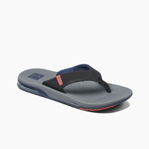 REEF MENS FLIP FLOPS.FANNING LOW GREY ARCH SUPPORT THONGS SANDALS SHOES 9S 3 gkr